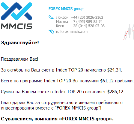 Mmcis forex index top 20